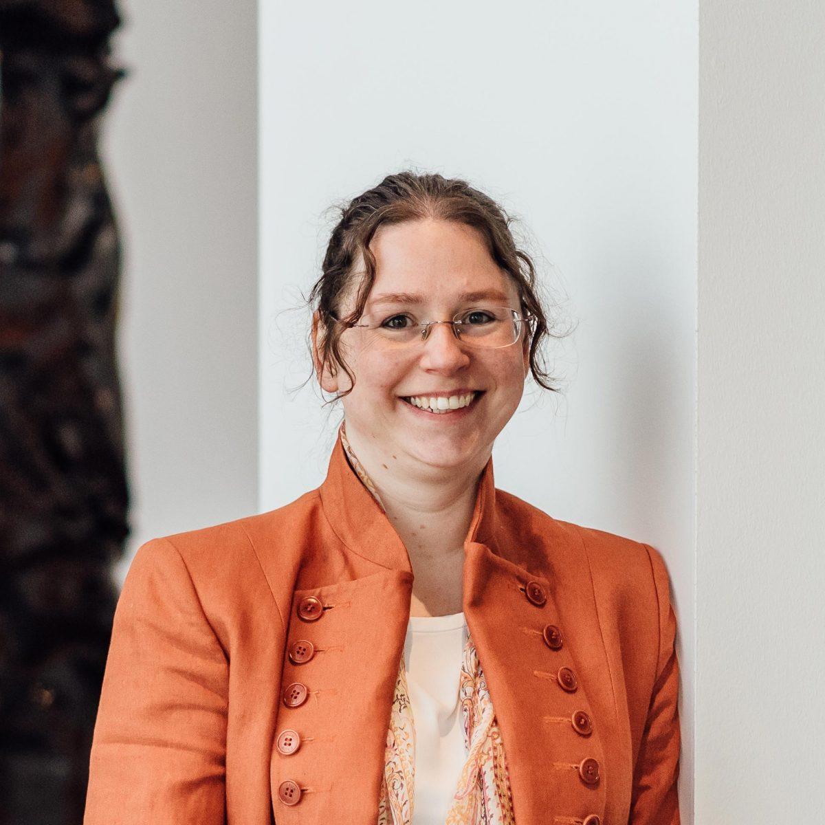 Saskia Giesbers in de Kunsthal