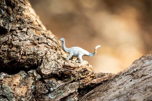 Dinosaurus als metafoor voor vastgeroeste medewerkers